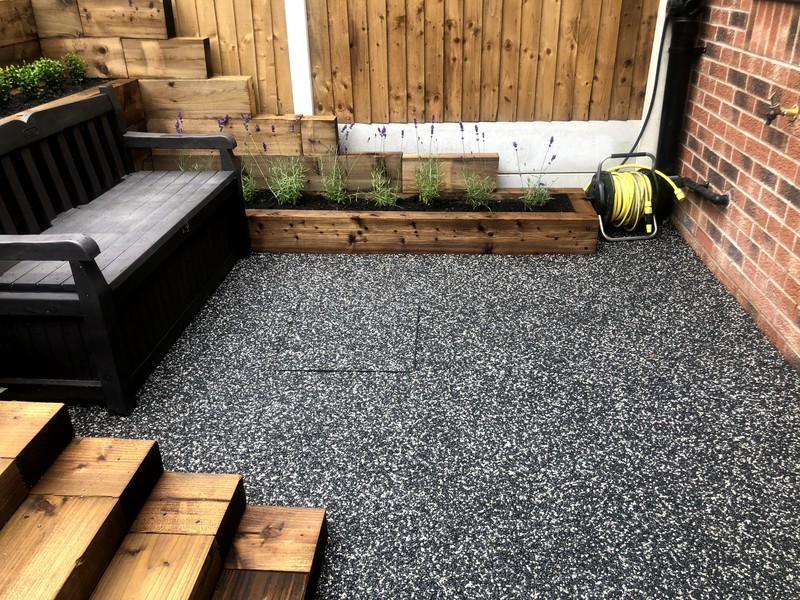 lovely resin patio West Midlands